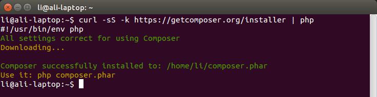 composer-xampp