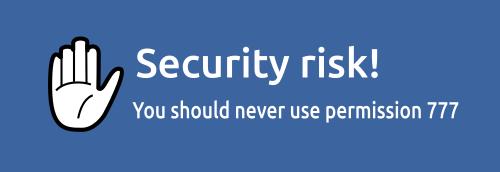 Jangan Pernah Menggunakan Permission 777 atau 765 Saat Mendevelop Web PHP di GNU/Linux