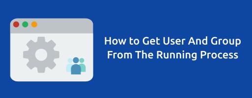 Cara Mengetahui User dan Group dari Running Process