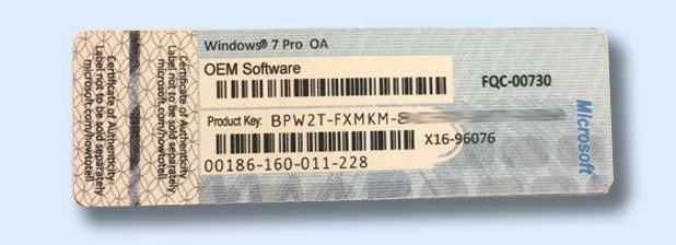 Cara Mendapatkan Product Key Windows dari GNU/Linux